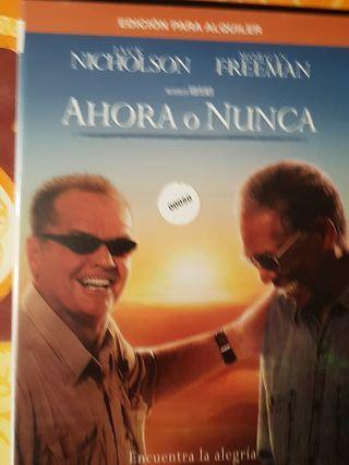 Peliculas dvd ahora o nunca
