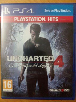 Uncharted 4 El desenlace del ladrón. PS4