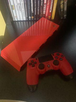 Mando + carcasa PS4 originales
