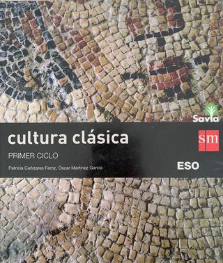 Libro de texto cultura clásica 2º ESO