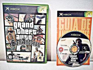 Gta San Andreas Para Xbox Clásica