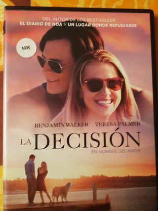 Peliculas dvd la decision