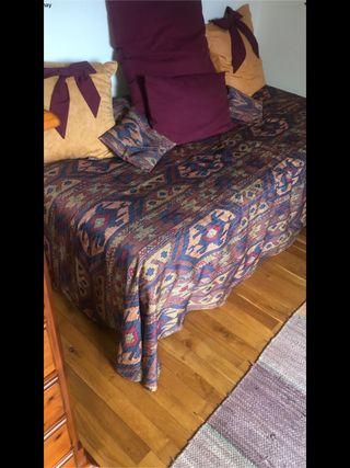 Somier de patas y colchón de 90cm