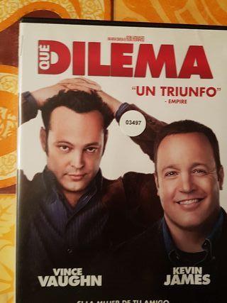 Peliculas dvd que dilema