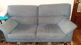 Sofá y sillón reclinable