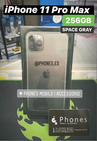 iPhone 11 Pro Max 256Gb Negro Precintado (Tienda)