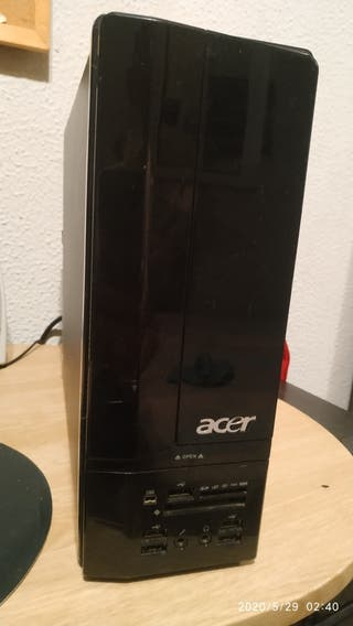 PC ACER X1700 (w10-500Hdd-QUADCORE)