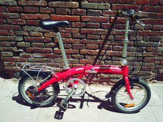 bicicleta plegable dahon curve