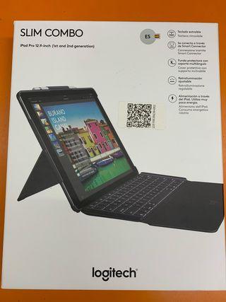"""Funda con Teclado Logitech para iPad Pro 12.9"""""""