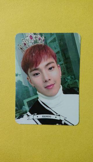 Photocard Shownu MONSTA X MX KINGDOM Fan-con