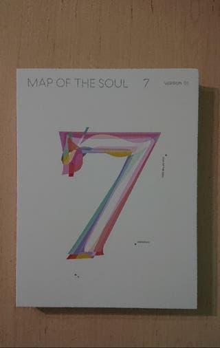 Album CD photobook Map of the soul 7 BTS KPOP