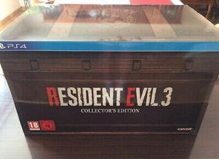 Resident Evil 3 Remake coleccionista