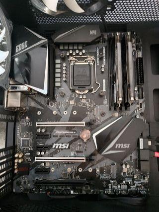 placa base msi mpg Z390 gaming ac