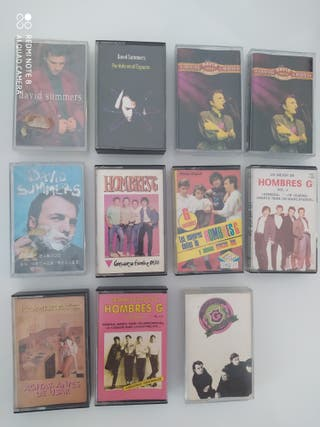 11 HOMBRES G DAVID SUMMERS Cintas Cassettes