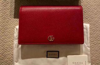 Bolso de Gucci Original modelo Marmont en rojo