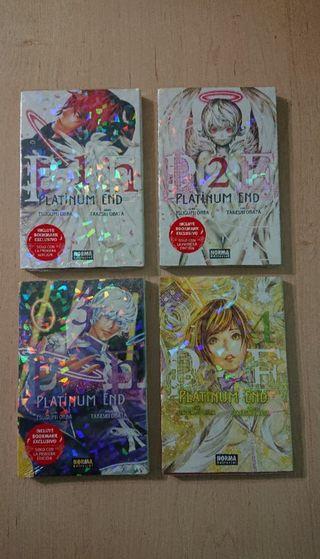 Manga Platinum End tomos 1 2 3 4 nuevos