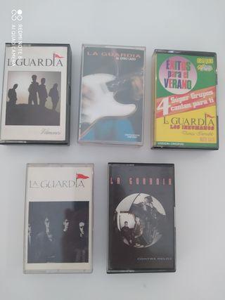 5 LA GUARDIA Cintas cassettes