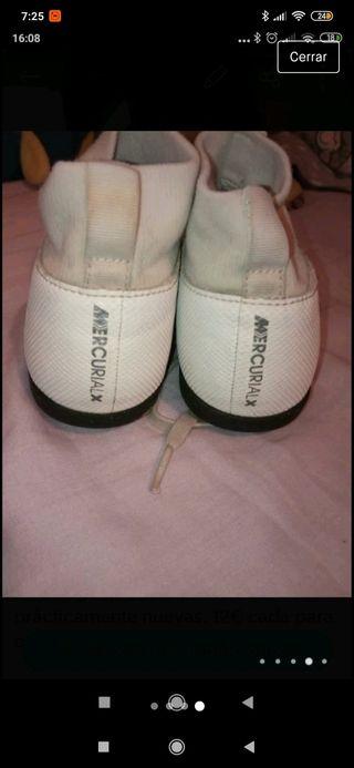 zapatillas niño Mercury Nike talla 36