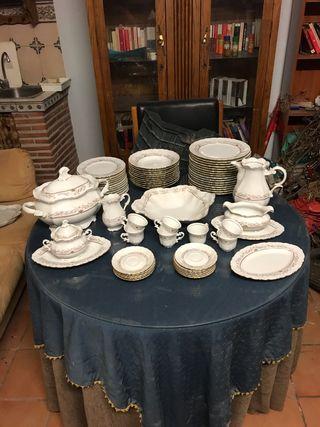 Vajilla porcelana capeans