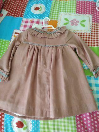 vestido talla 18 meses