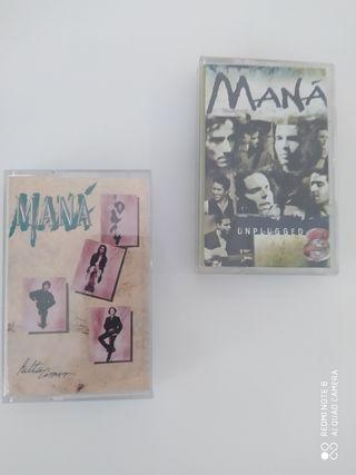 2 MANA Cintas Cassettes