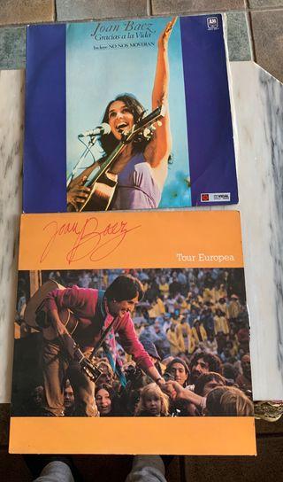 2 discos vinilo Joan Baez