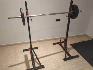 Rack 100 musculación Domyos decathlon