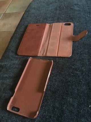 Funda piel / cartera iphone 6/6s