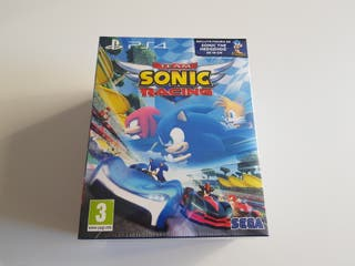 Team Sonic Racing + Figura PS4 Playstation 4