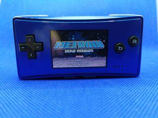 Game boy micro con cargador