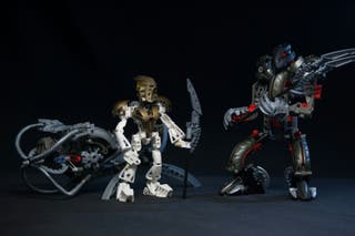 Titanes del 2003 LEGO - Bionicle