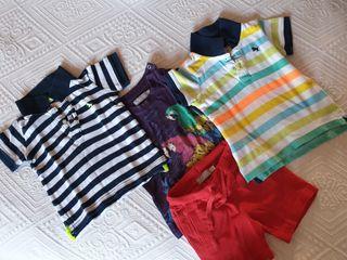 Lote ropa verano niño 9 -12 meses