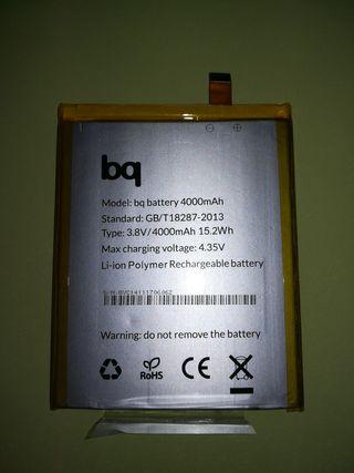Batería original Bq Aquaris E6