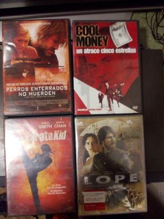 lote películas DVD