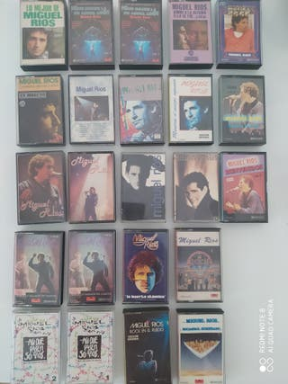 23 MIGUEL RIOS Cintas Cassettes Discografía