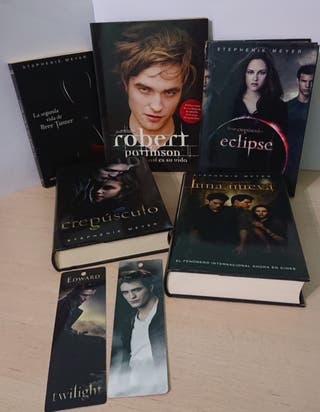 Lote Libros Saga Crepúsculo