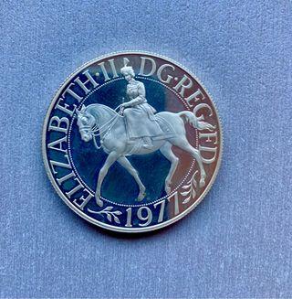 Moneda plata 1977