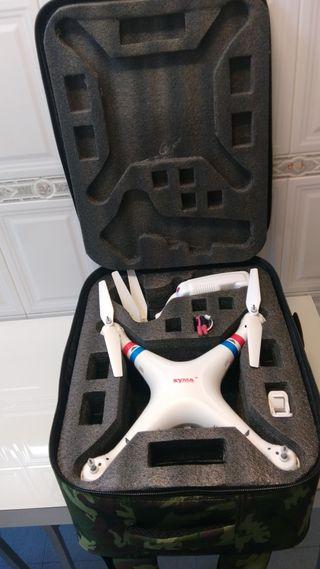 mochila / maleta drone syma x8