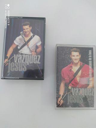 2 JESUS VÁZQUEZ Cintas Cassettes