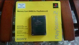 "Memory Card PlayStation 2 "" PRECINTADA """