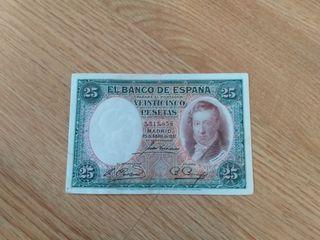 25 pesetas del 1931