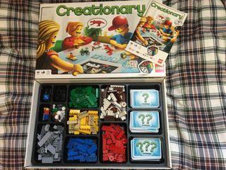 Juego Lego Creationary
