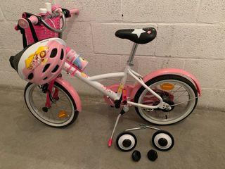 Bicicleta niña 4-6 años(105-120cm)