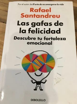 LIBRO LAS GAFAS DE LA FELICIDAD- RAFAEL SANTANDREU