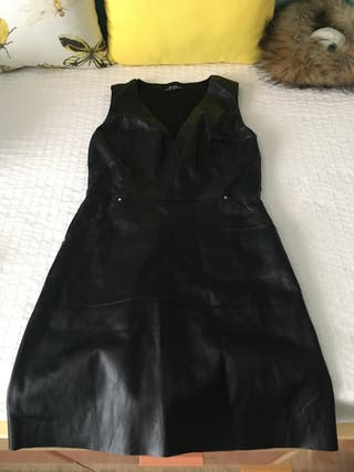 Vestido cuero