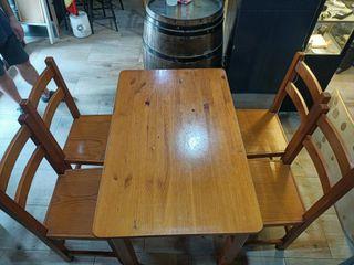 Mesas y sillas hostelería