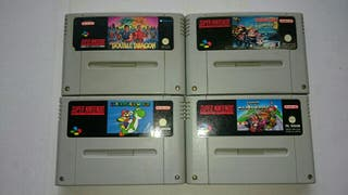 4 Juegos Nintendo SNES