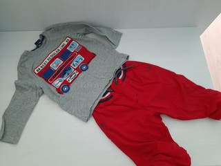 Conjunto camiseta y pantalon 12 a 18 meses