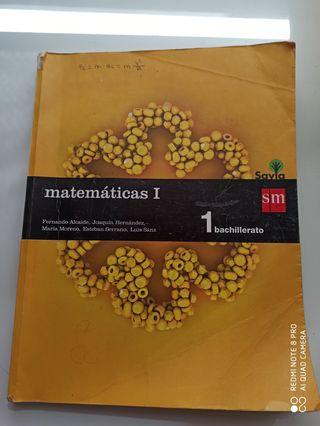 matemáticas 1Bach SM