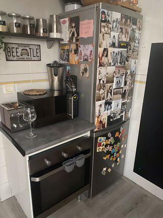 Frigo + horno + mueble